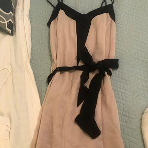 Banana republic size 4 pink/black dress